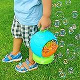 Trendario Seifenblasenmaschine Für Kinder & Erwachsene im Fussball Design, 500 Seifenblasen pro Minute, ideal für Party, Hochzeit, Deko, Geburtstag - 2